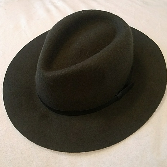 Goodfellow Accessories - Goodfellow olive green target brand fedora hat 1ff1aa6ad753